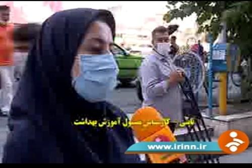 تهیه-گزارش-شبکه-خبر-با-کارشناس-مسئول-مرکز-بهداشت-جنوب-تهران-برای-پیشگیری-از-کرونا