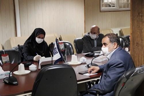 حضور-کارشناس-مسئول-مرکز-بهداشت-جنوب-تهران-در-جلسه-تشکیل-اتاق-مشترک-خیرین