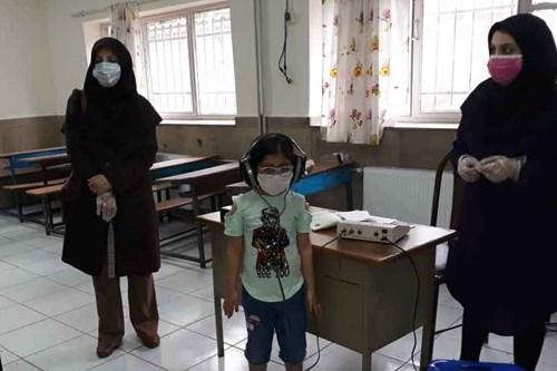 بازدید-کارشناس-مسئول-مرکز-بهداشت-جنوب-تهران-از-پایگاه-های-سنجش-نوآموزان-اول-ابتدایی