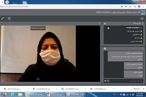 برگزاری-کلاس-آموزشی-مرکز-بهداشت-جنوب-تهران-با-موضوع-شیرمادر-و-کودک-در-دوران-کرونا