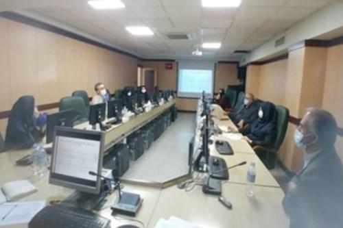 ارائه-گزارش-کارشناس-مسئول-مرکز-بهداشت-جنوب-تهران-در-ششمین-نشست-کارگروه-کشوری-صیانت-از-حقوق-مردم
