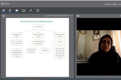 برگزاری-کلاس-آموزشی-مراقبت-و-هدایت-مادران-و-نوزادان-در-دوران-شیوع-بیماری-کووید-19-در-مرکز-بهداشت-جنوب-تهران