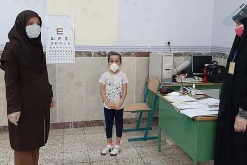 بازدید-کارشناس-مسئول-مرکز-بهداشت-جنوب-تهران-از-پایگاه-سنجش-نوآموزان-راه-فاطمه-س