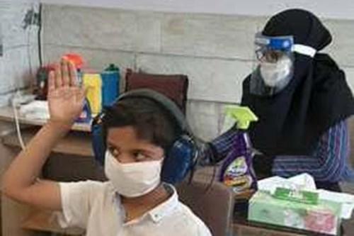بازدید-کارشناس-مرکز-بهداشت-جنوب-تهران-از-پایگاههای-سنجش-نوآموزان-منطقه-11