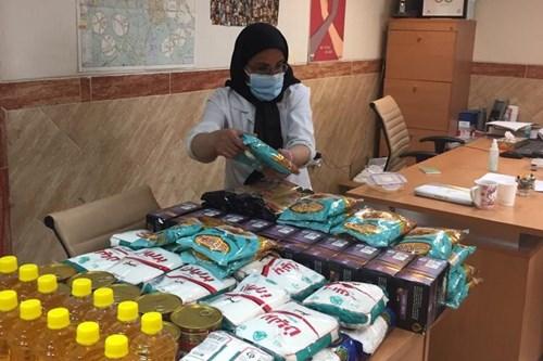 توزیع-سبد-غذایی-در-مراکز-مشاوره-سلامت-زنان-مرکز-بهداشت-جنوب-تهران