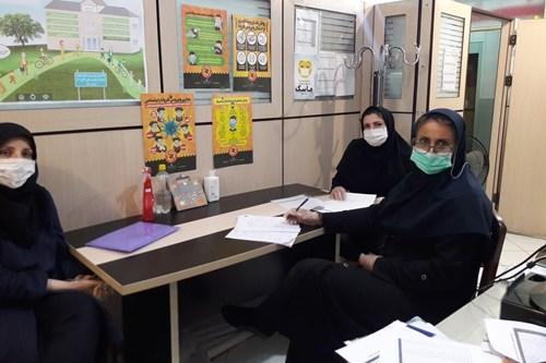 برگزاری-جلسه-کمیته-هماندیشی-واحد-سلامت-نوجوانان،-جوانان-و-مدارس-در-مرکز-بهداشت-جنوب-تهران