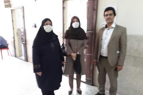 بازدید-کارشناس-مسئول-مرکز-بهداشت-جنوب-تهران-ازحوزه-های-امتحانات-برای-پیشگیری-از-کرونا