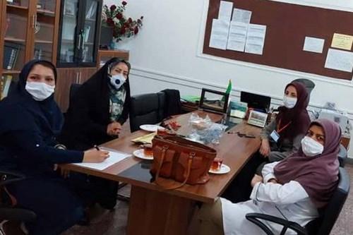 بازدید-کارشناس-مرکز-بهداشت-جنوب-تهران-ازحوزه-های-امتحانات-برای-پیشگیری-از-کرونا