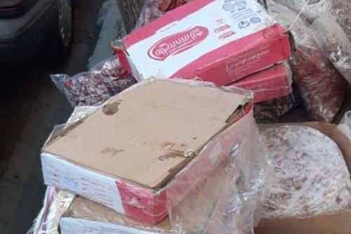 کارشناسان-مرکز-بهداشت-جنوب-تهران-گوشت-فاقد-مشخصات-و-دام-غیر-مجاز-در-منزل-مسکونی-را-توقیف-کردند
