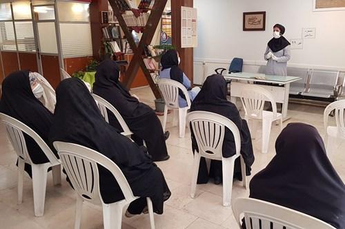 برگزاری-کلاس-آموزشی-تغذیه-مناسب-در-پیشگیری-از-کرونا-در-مرکز-بهداشت-جنوب-تهران-2