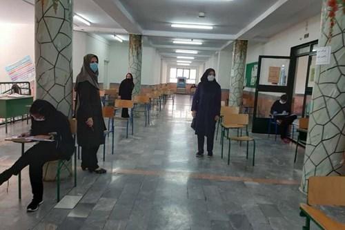 بازدید-کارشناسان-مرکز-بهداشت-جنوب-تهران-از-حوزه-های-امتحانات-برای-پیشگیری-از-کرونا
