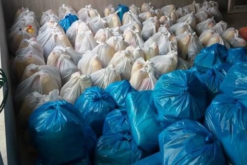 توزیع-سبد-غذایی-واحد-بهبود-تغذیه-مرکز-بهداشت-جنوب-تهران