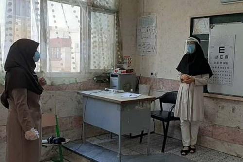 بازدید-کارشناس-مسئول-مرکز-بهداشت-جنوب-تهران-از-پایگاه-سنجش-نوآموزان-منطقه-10