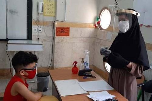 بازدید-کارشناس-مرکز-بهداشت-جنوب-تهران-از-پایگاه-سنجش-نوآموزان