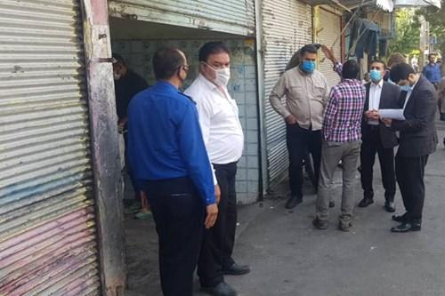 بازدید-کارشناس-واحد-بهداشت-محیط-مرکز-بهداشت-جنوب-تهران-از-5-مرکز-غیرمجاز-خریدوفروش-زباله