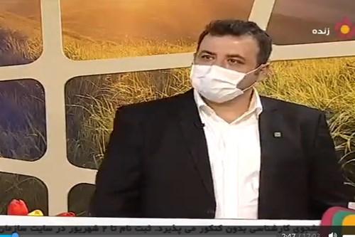 مصاحبه-زنده-تلویزیونی-با-سلطان-نمونه-گیری-کرونا-در-مرکز-بهداشت-جنوب-تهران