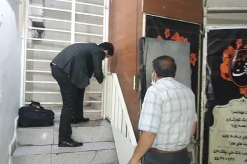 پلمپ-مهمانپذیر-متخلف-در-تحت-پوشش-مرکز-بهداشت-جنوب-تهران