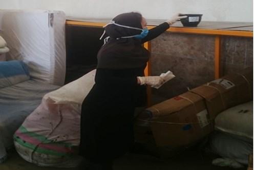اجرای-برنامه-چک-حشرهشناسی-در-مرکز-بهداشت-جنوب-تهران