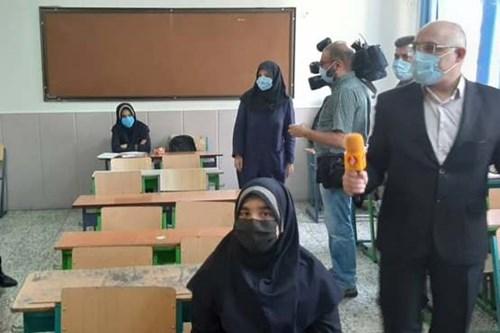 بازدید-کارشناس-مسئول-مرکز-بهداشت-جنوب-تهران-از-بازگشایی-مدارس-متوسطه-دور-اول-دخترانه-جهان-تربیت-منطقه-10-آموزشوپرورش-درسال-تحصیلی-جدید